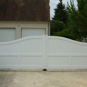pose portail Loiret