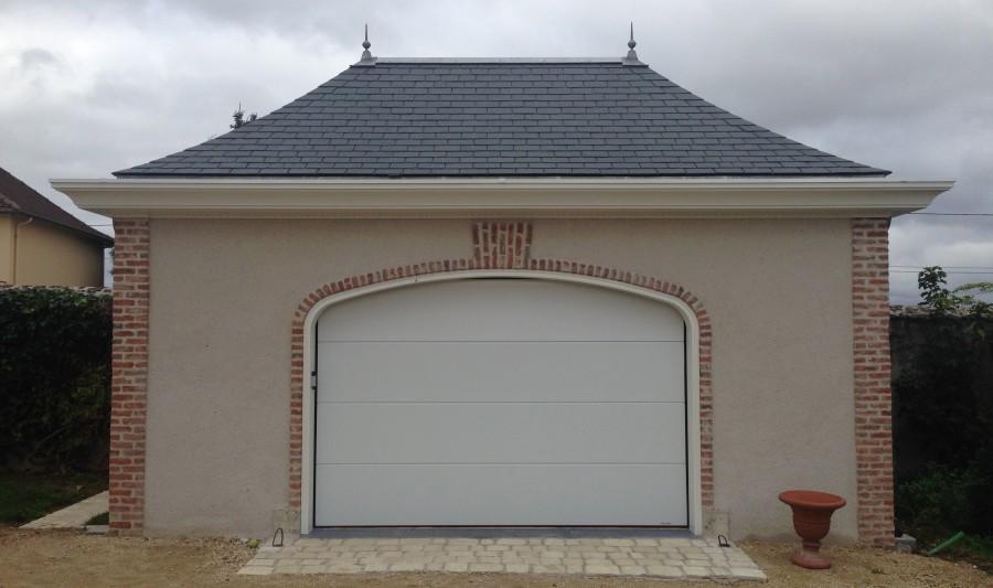 Pose d'une porte de garage