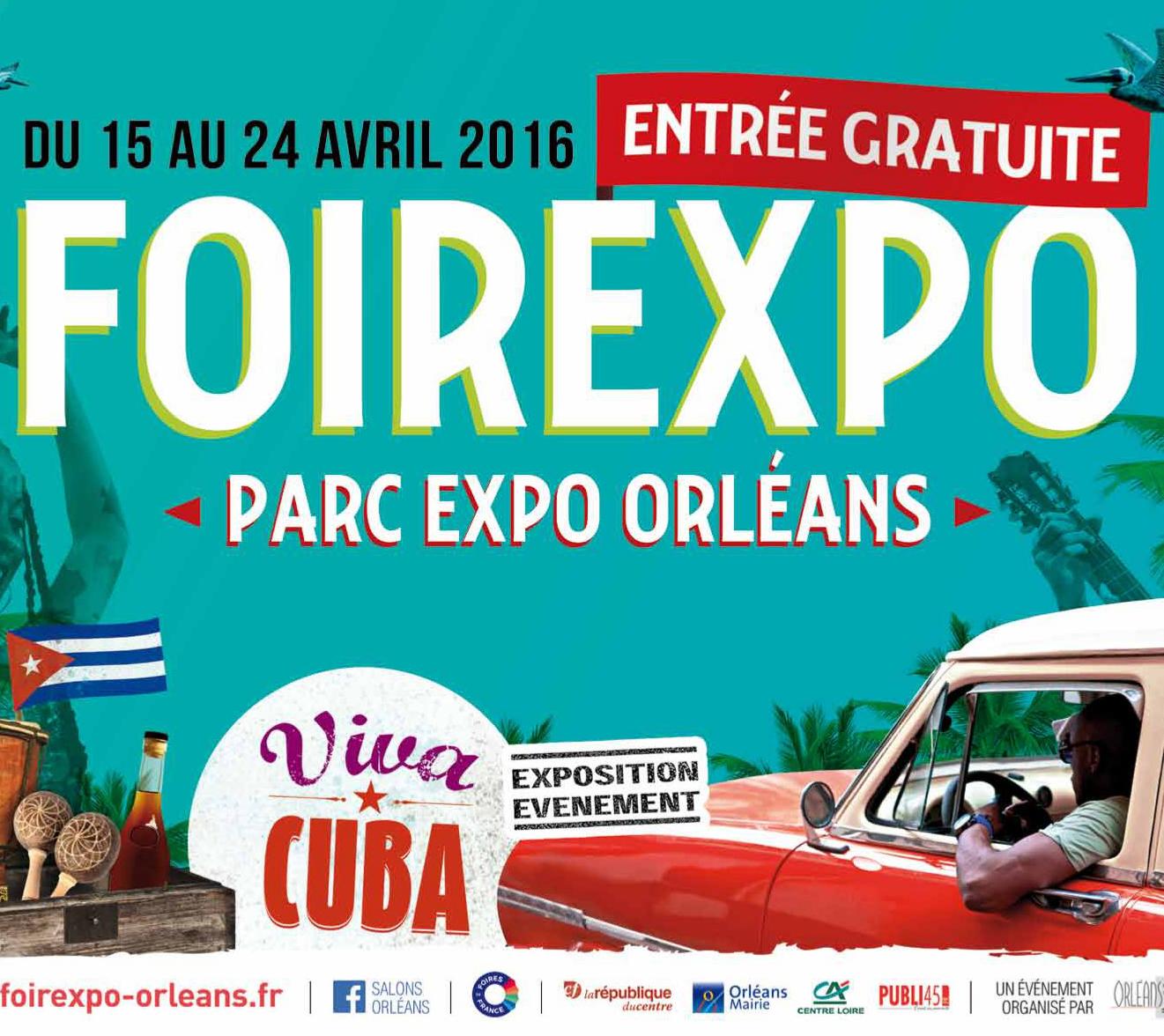 La Foire Expo d'Orléans 2016, c'est du 15 au 24 avril
