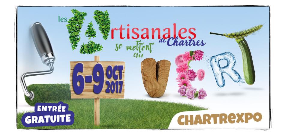 Les artisanales de Chartres du 6 au 9 Octobre 2017