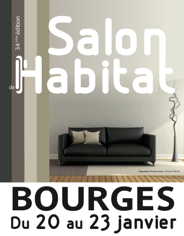 Salonde l'Habitat à Bourgesdu 19 au 22 janvier 2018