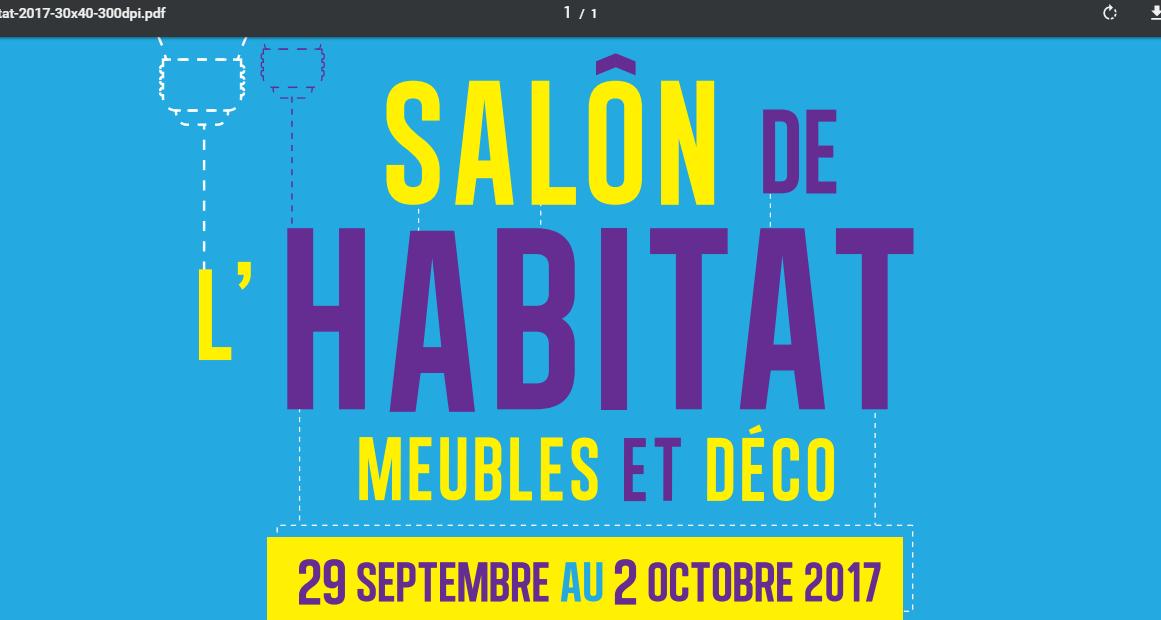 Salon de l'habitat d'Orléans du 29 au 02 octobre2017
