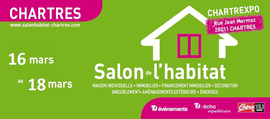 Salon de l'habitat et de la déco de Chartres du 16 au18 mars 2018